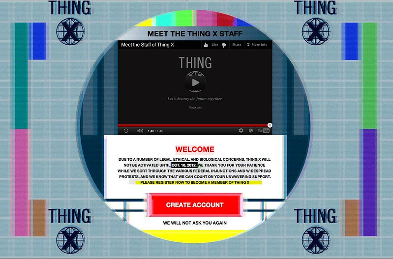 Thing X is coming soon!