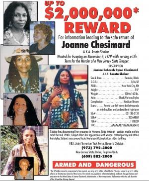 Prima donna nella black list dei ricercati Fbi.  Gli anni '70 bussano alla porta degli Usa