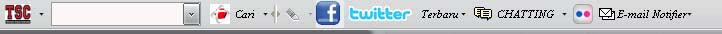 Telkomsel toolbar