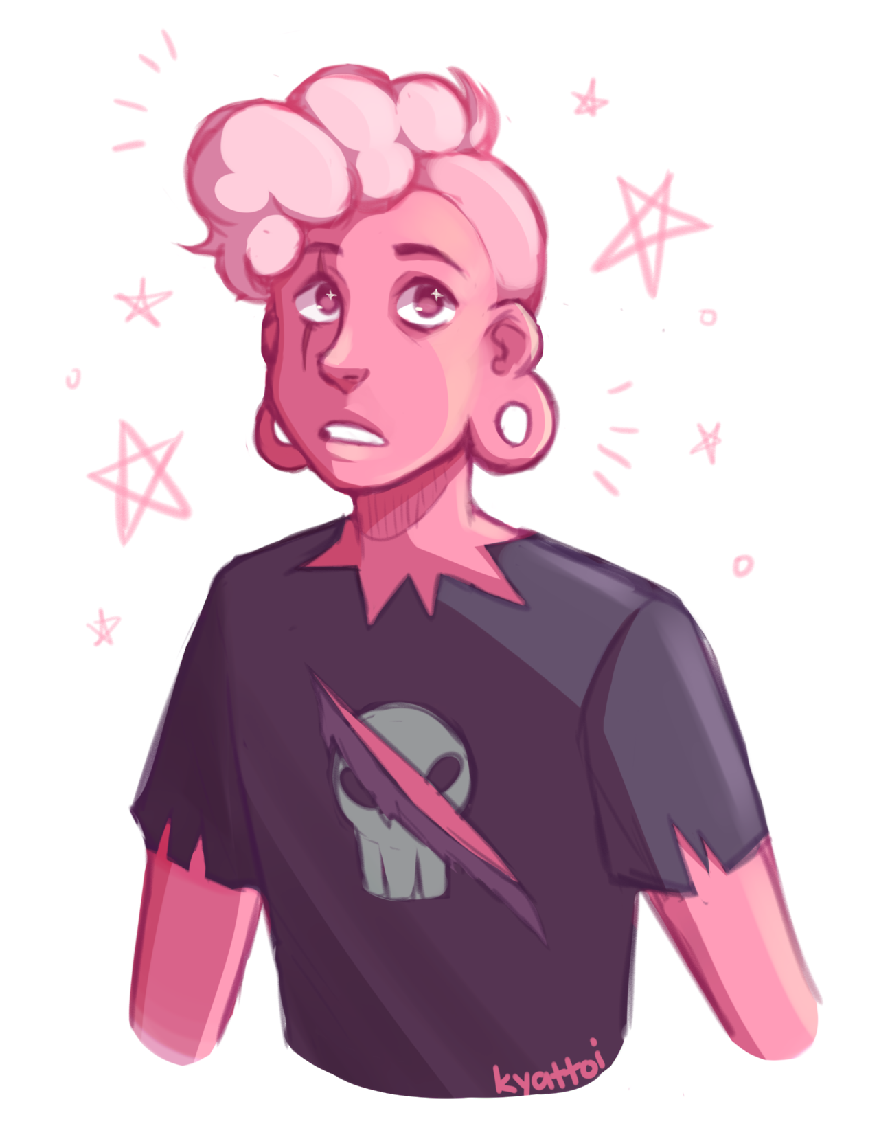 A quick Lars featuring his new look!