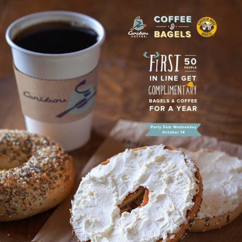 A Year Of Free Coffee And Bagels Caribou Coffee Einstein Bros Bagels Arizona Foodie