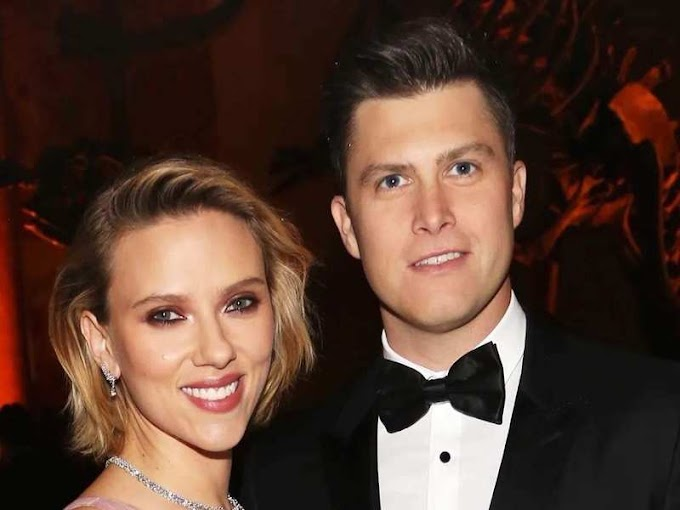 Scarlett Johansson marries Colin Jost in an intimate ceremony following all COVID-19 protocols