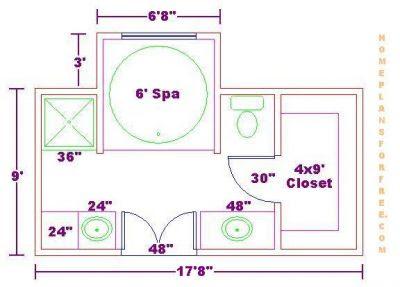 Bathroom Decorations Ideas on Free Bathroom Plan Design Ideas   Free Bathroom Floor Plans Free