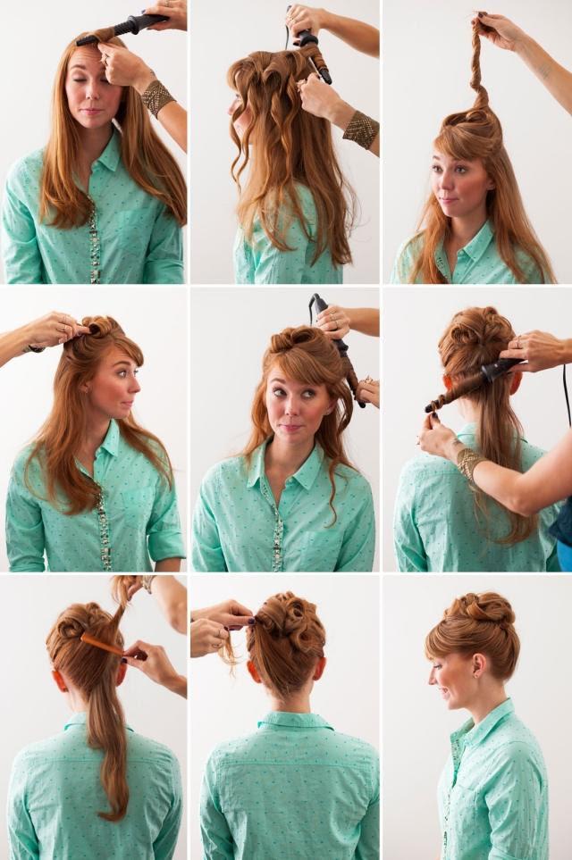 Frisuren Zum Nachmachen Mit Bildern Schnell Lange Haare
