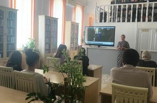 Врамках акции «Ночь кино» вглавной библиотеке Ингушетии посмотрели фильм оЮрии Гагарине