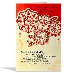 Thank You Card   Suppliers & Manufacturers in India