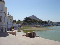 pushkar ghat view