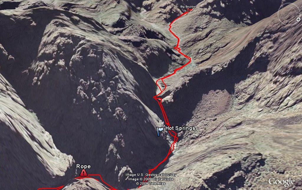 Goldstrike Hot Springs Hike