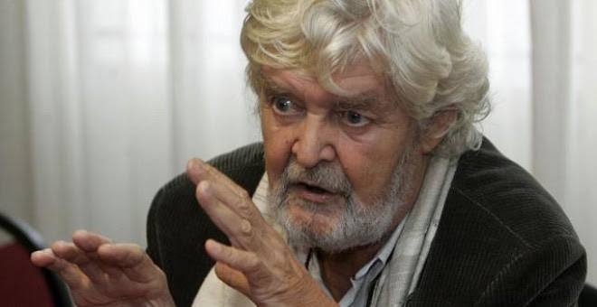 El portavoz de AGE en el Parlamento, Xosé Manuel Beiras. EFE