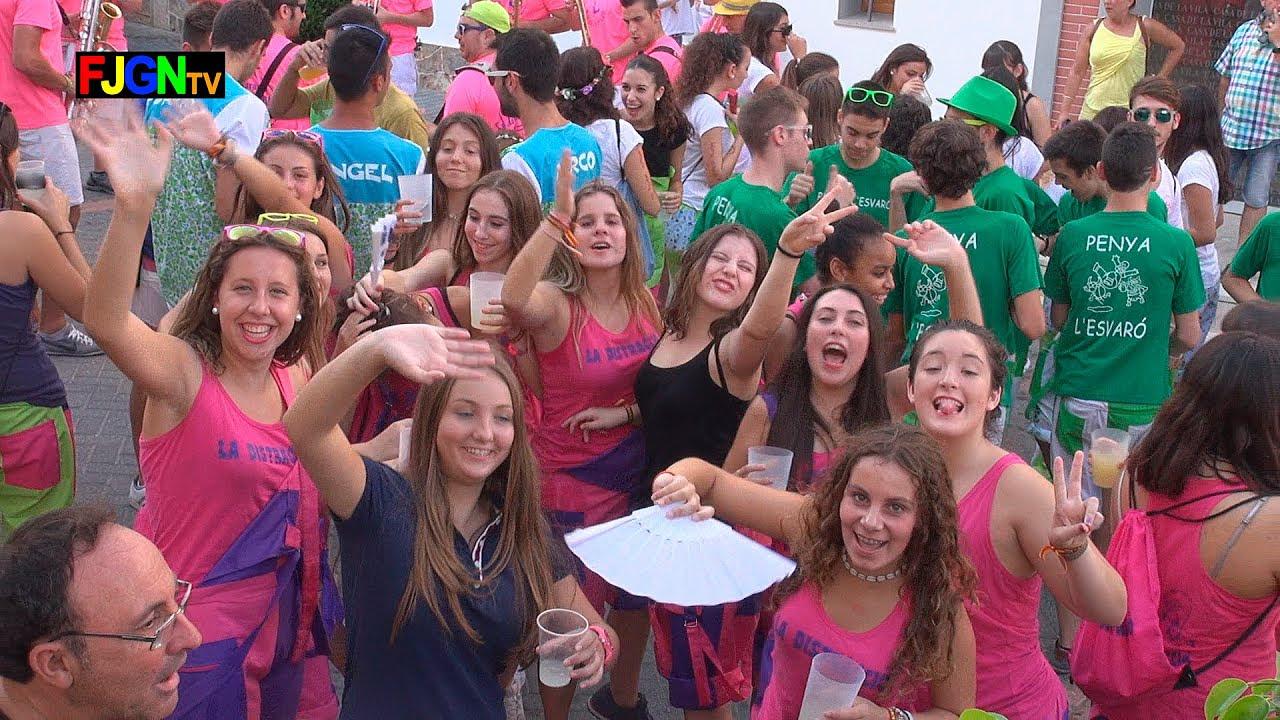 Chupinazo y Desfile de Peñas - Festa La Vila 2014 - La Vilavella