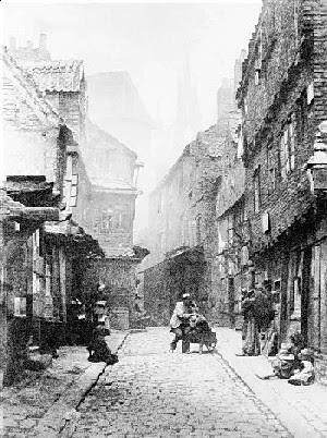 London slum. Imagen procedente de gerald-massey.org.uk