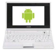 Google Android Running On Eee PC 701