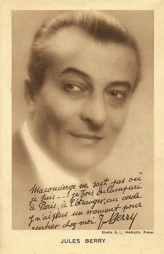 Jules Berry, publicity for Campari