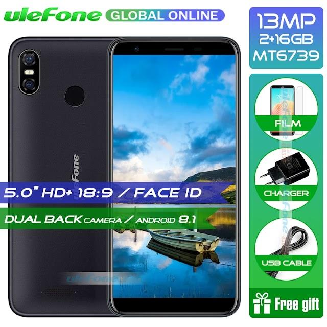Kopen Goedkoop Ulefone S9 Pro Android 8.1 Mobiele Telefoon 5.5 Inch HD + MTK6739 Quad Core 2 Gb RAM 16 ROM 13MP 5MP Dual Achter Camera 4g Smartphone Prijs