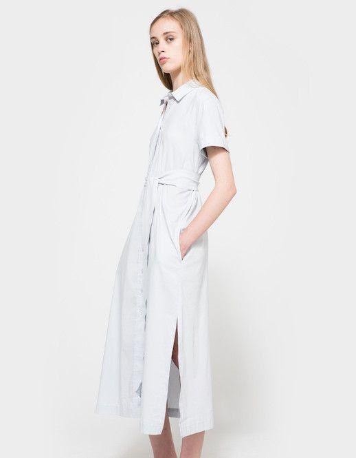 Le Fashion Blog Under $ 200 Light Weight Shirt Dress Via Need Supply