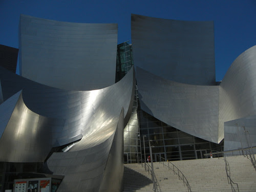 DSCN8443 _ Exterior, Walt Disney Concert Hall, Los Angeles, July 2013