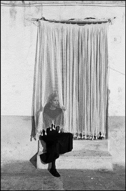 Ferdinando Scianna  Sicily, Porticello, 1987