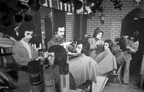 Richmond Men's Hairdresser, 1979