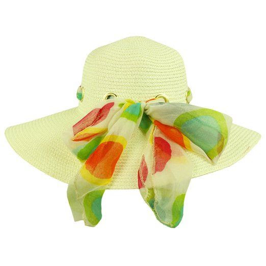 Faddism Women Summer Straw Hat One size Red