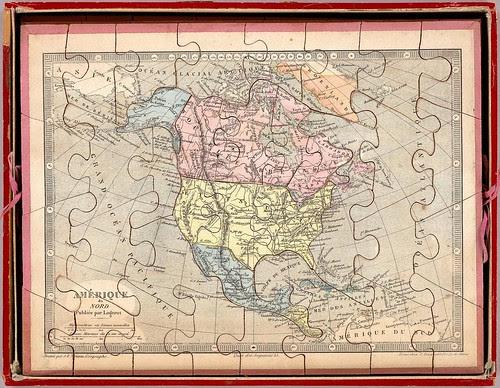 Amérique du Nord (pub. by Logerot)