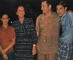 The Mubaraks in 1975