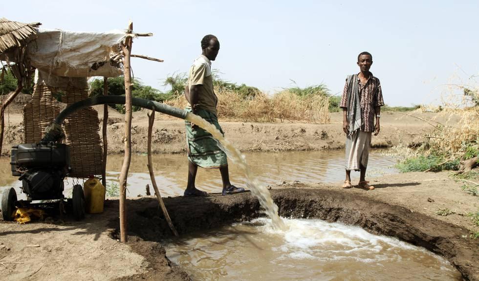 Un proyecto para instalar un sistema de regadío en Etiopía.