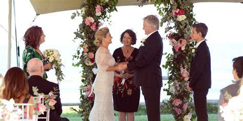 Marilyn and John tie the knot