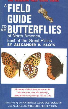 Klots A Field Guide To The Butterflies