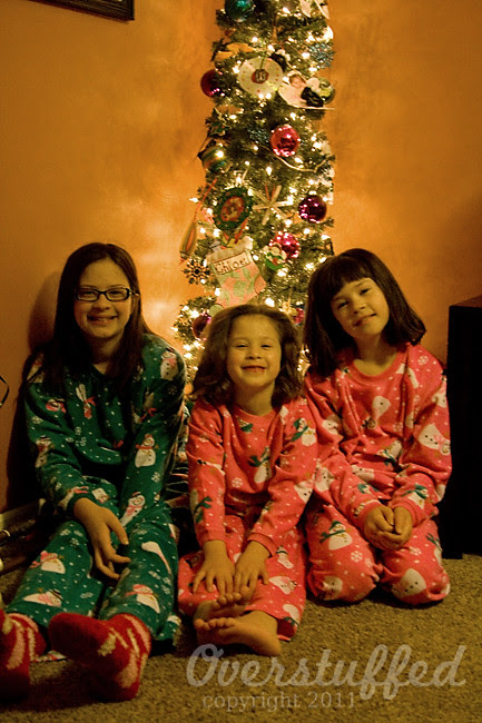 How to start your own family Christmas Traditions — matching Christmas jammies!