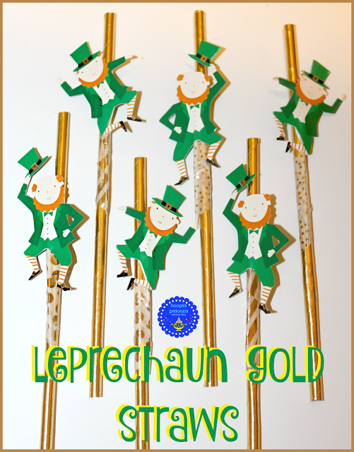 Leprechaun Gold Straws - Hoopla Palooza - HMLP 77 Feature