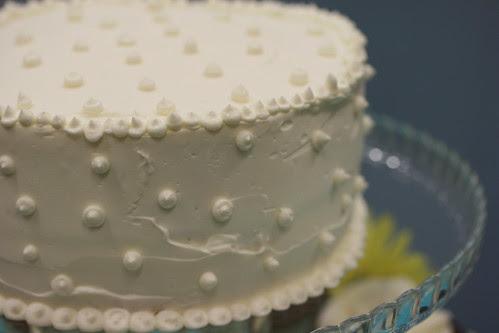 Wedding Cake - Lemon Curd Cake