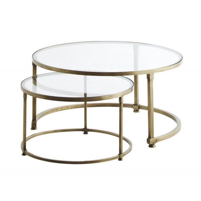 Ou Trouver Une Table Basse Avec Un Pietement Dore Cocon Deco Vie Nomade
