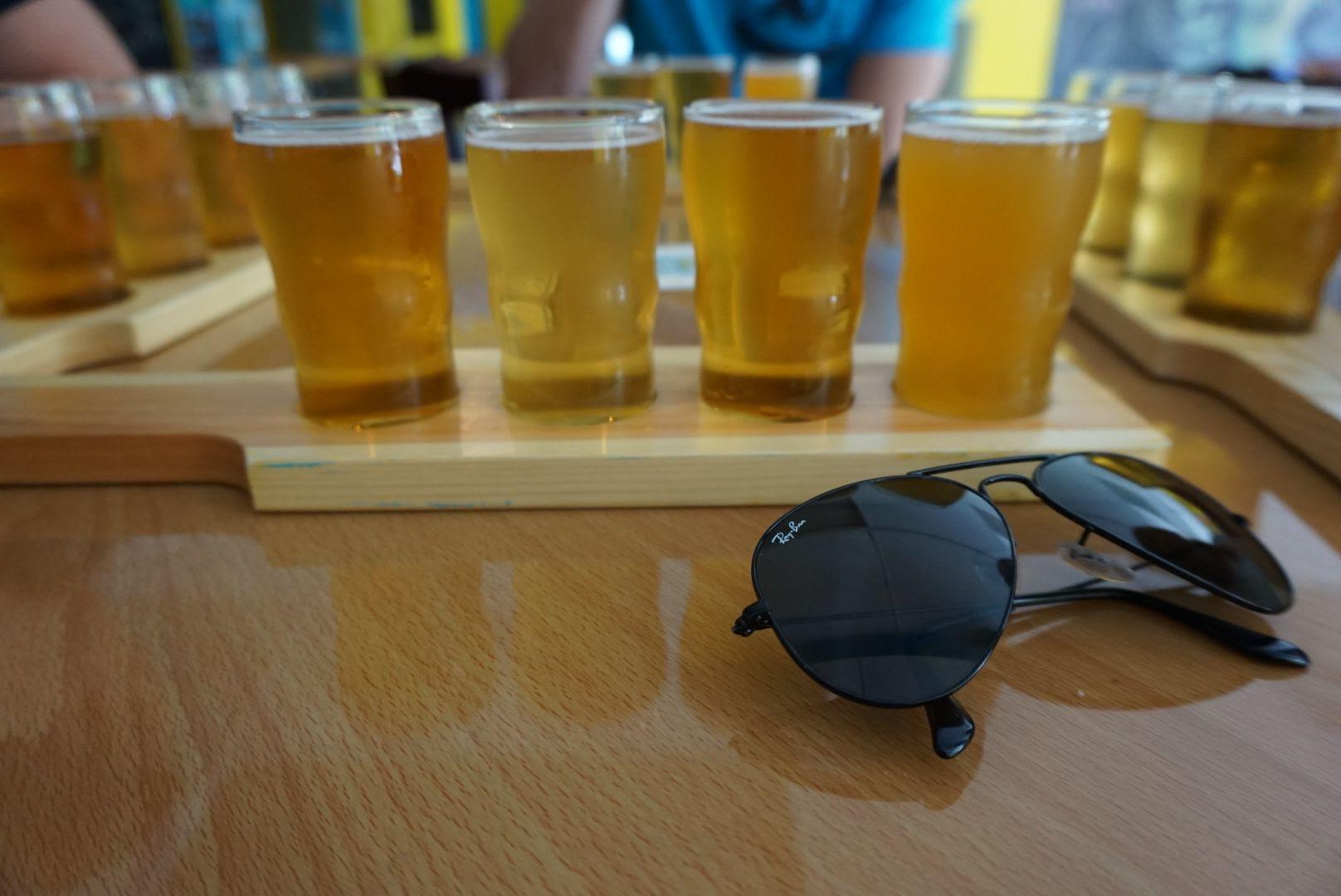 Islamorada Beer Company Beer Flight