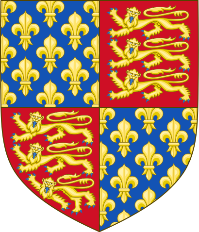 Archivo:Royal Arms of England (1340-1367).svg