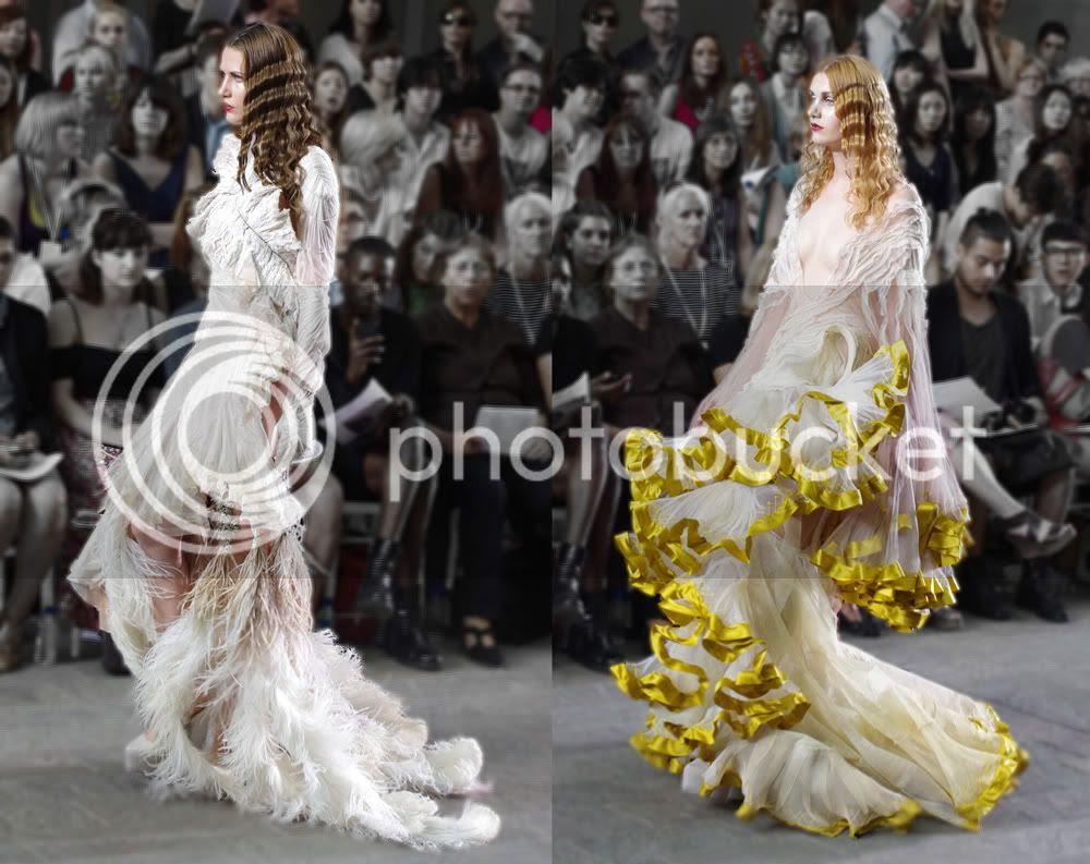 Oliver Ward (Fashion Womenswear) CSM BA Press Show