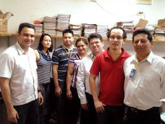 Dirigentes-sindicais-são-recebidos-com-carinho-pelos-funcionários-do-BB-em-Medicilândia.