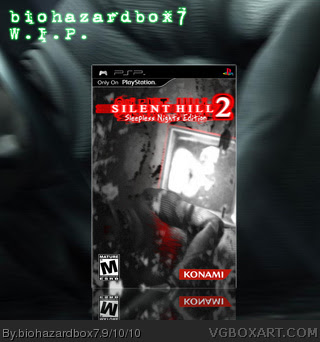 Silent Hill 2: Sleepless Nights Edition (W.I.P.) PSP Box ...