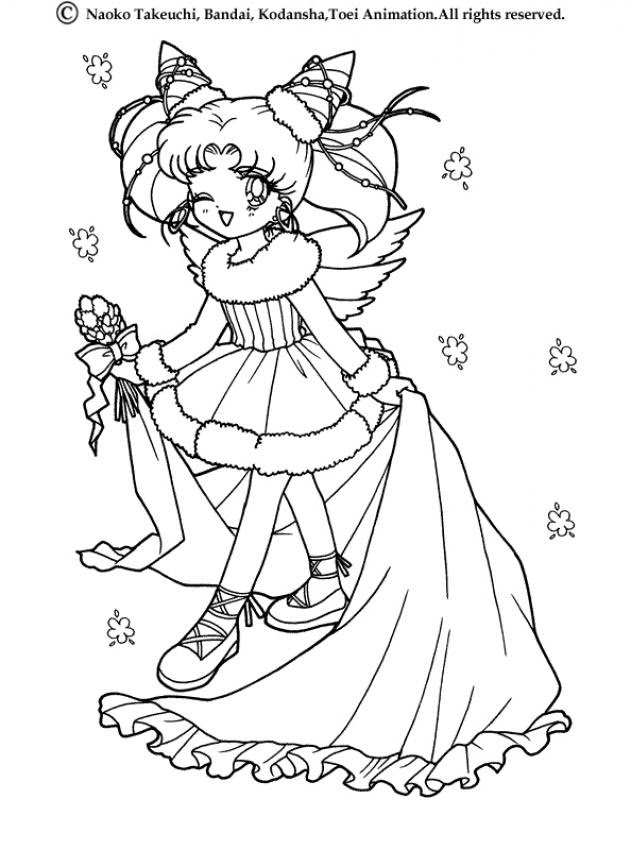 Sailor Moon Coloring Pages Hellokidscom