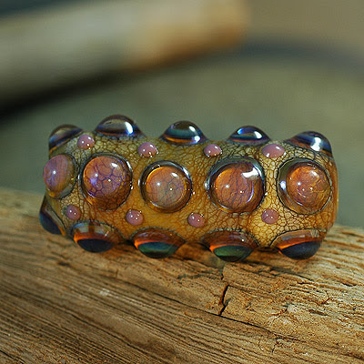 Lampwork Glass Bead 4-20-09