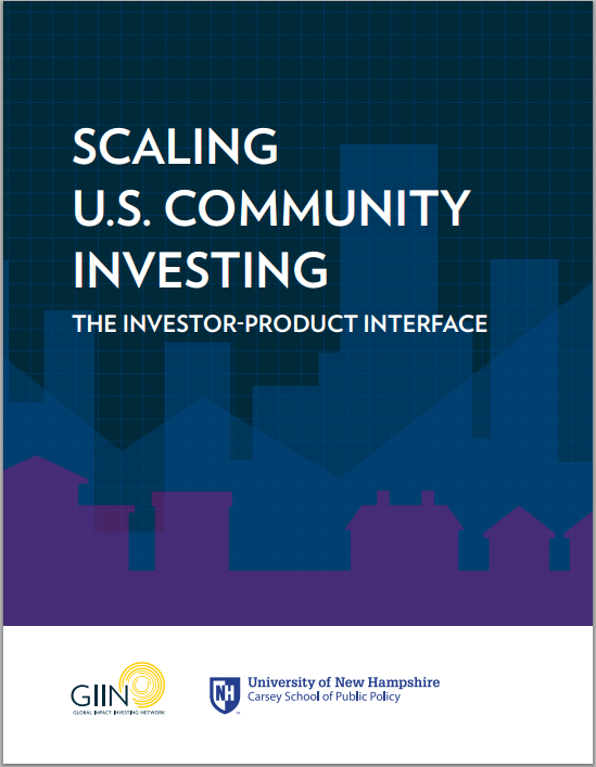 FW: News from Carsey: The Global Impact Investing Network