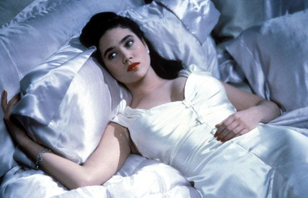 Jennifer Connelly as Jenny in THE ROCKETEER.