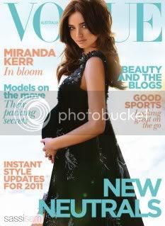 Miranda Kerr Vogue Australia January 2011
