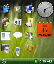 menu desktop