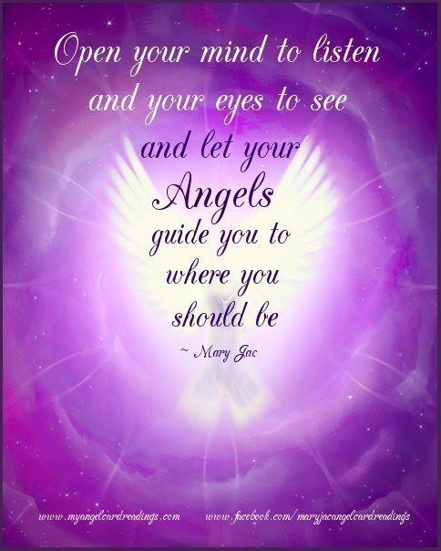 Open Your Mind To Listen And Your Eyes To See Blessing Quote