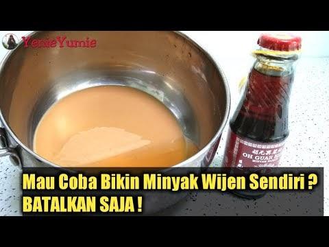 Jangan Coba-Coba Membuat Minyak Wijen Sendiri