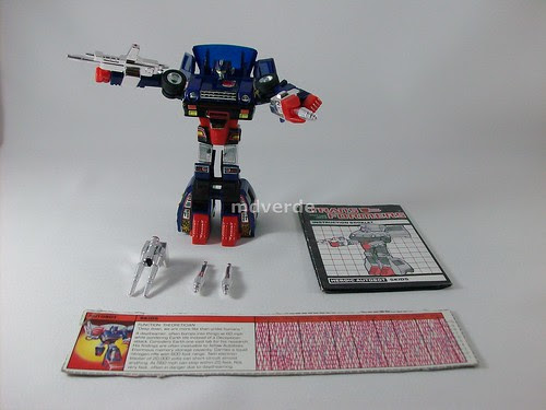 Transformers Skids G1 - modo robot (by mdverde)