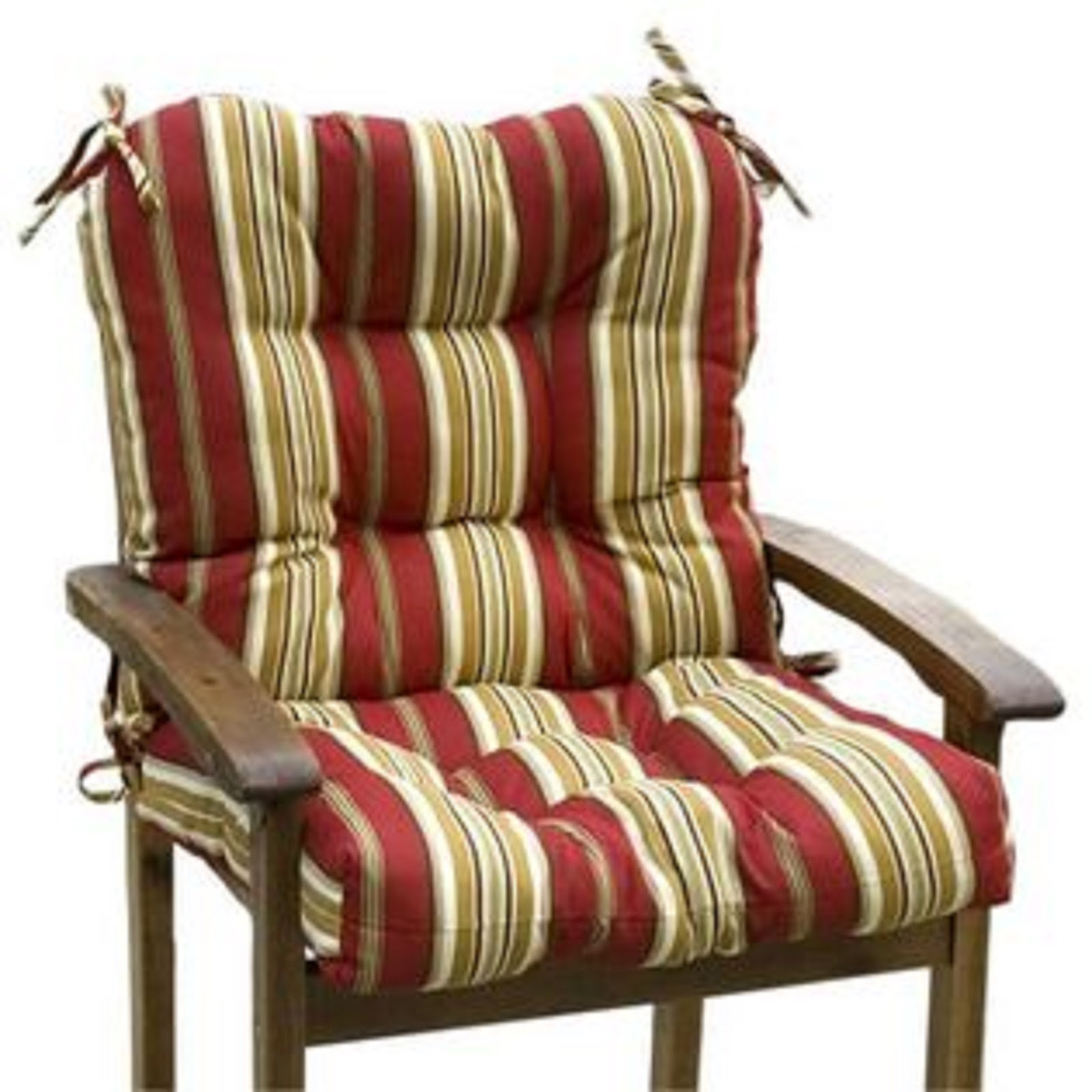 Greendale Home Fashions Outdoor Seat/Back Chair Cushion ...
