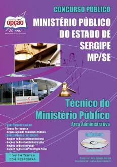 Ministério Público / SE (MP/SE)-TÉCNICO DO MINISTÉRIO PÚBLICO (ÁREA ADMINISTRATIVA)