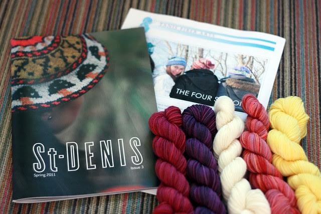 St-Denis Magazine giveaway