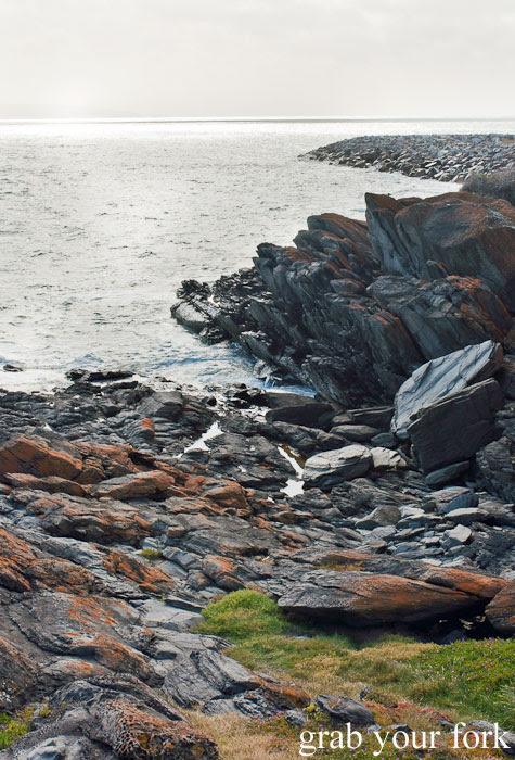 Rocks along the coastline of Kangaroo Island